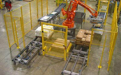 Auto Robot Palletizer atau Conventional Palletizer? Pilih mana?