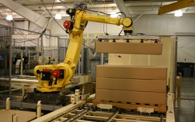 Apa Sebenarnya Manfaat Palletizer Industrial Robot?