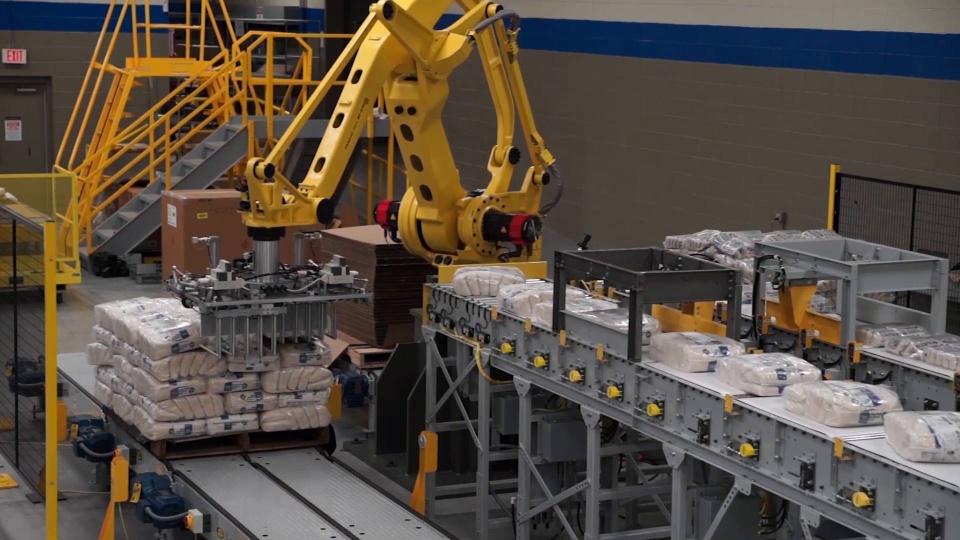 Hal yang Penting dalam Palletizing Robot Components