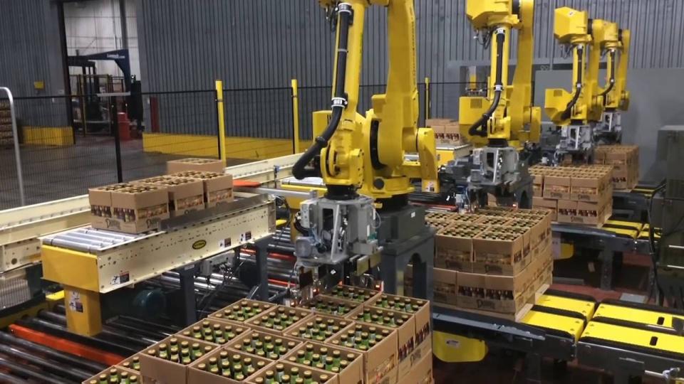 Masa Depan Industri Dengan High Palletizing Robot Speed