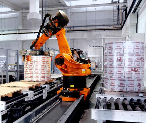 robot-palletizing